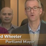 Man pepper-sprayed by Portland mayor is a lawyer and heir to dairy