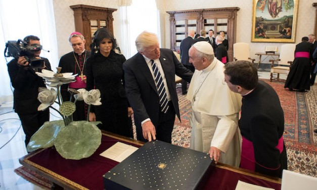 Pope Francis scolds Trump on DACA