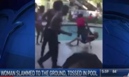 Vicious teen throws 68 yr. old woman into pool, gets coddled by judge
