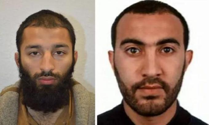 British police identify suspects in London Bridge attack