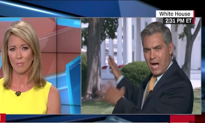 CNN's Jim Acosta melts down over 'useless' Sean Spicer