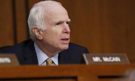 McCain, cronies at IRS targeted Tea Party groups while McCain pledged to 'work together'
