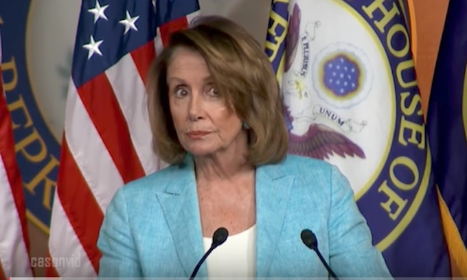 Pelosi downplays talk of Democrat shutdown over Obamacare