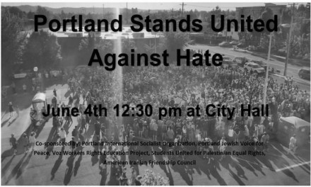 Portland rally organizer respects MAX family member's request, but Sunday protest is on