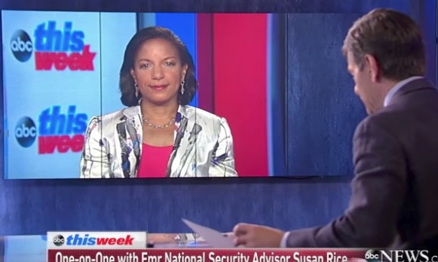 Susan Rice comes out to say we have to accept terrorists