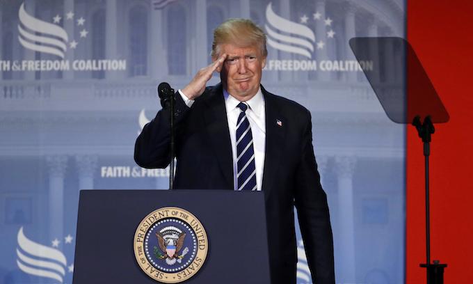 Donald Trump to evangelicals: 'We're under siege'