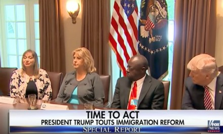 Trump meets with victims, urges passage of Kate's Law and No Sanctuary for Criminals Act
