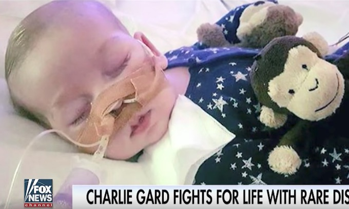 New hope for 'prisoner of the state' baby Charlie Gard