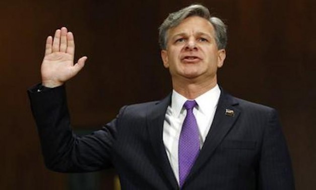 Where is FBI Director Christopher Wray?