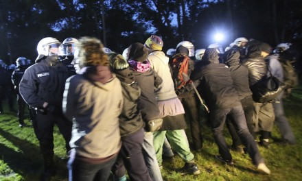 Police, protesters clash prior to Hamburg, Germany's G20 summit