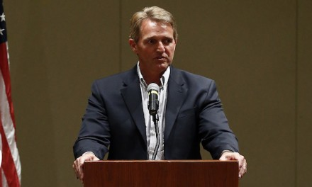 Jeff Flake: Some GOP rallies look like 'spasms of a dying party'