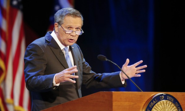 Pathetic 'kinetic' John Kasich thinks he can be a contender