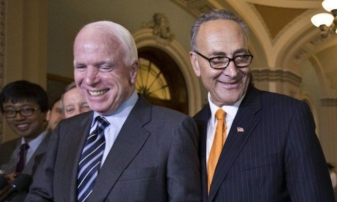 John McCain and the Swamp, 1 — the American people, 0