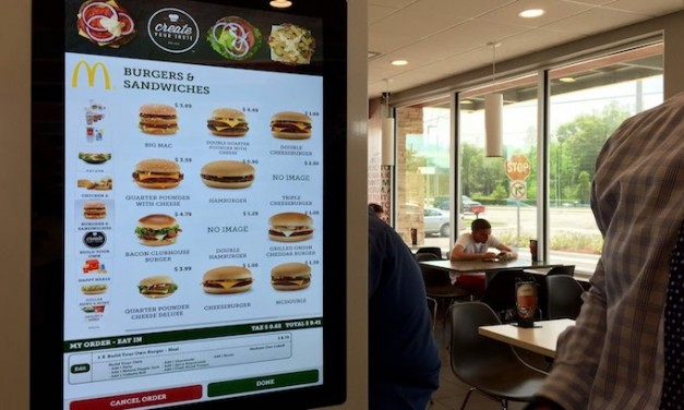 McDonald's plans to modernize restaurants with self-order kiosks