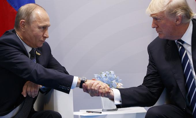 Trump, Putin meeting goes longer than expected