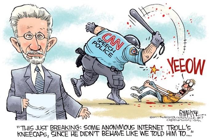 CNN the Enforcer!