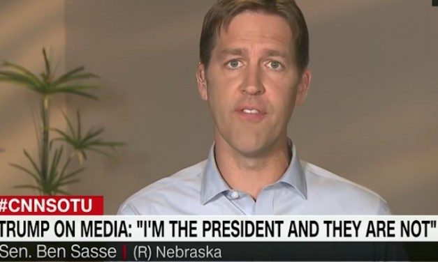 Ben Sasse on CNN: Trump trying to 'weaponize distrust' in the media