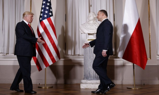 Trump in Poland: Considering 'severe' reaction to North Korea