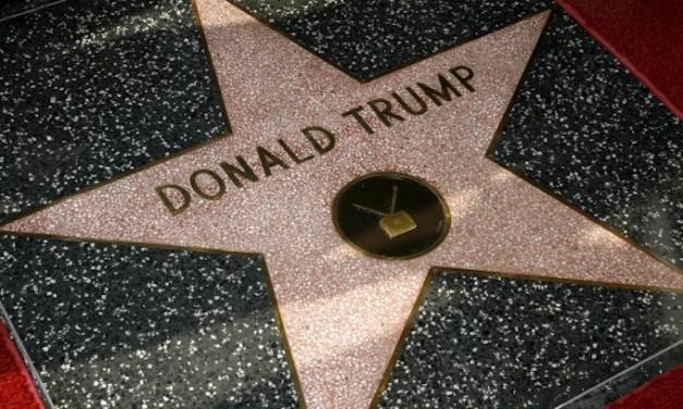 Patriots defend Trump's Hollywood star