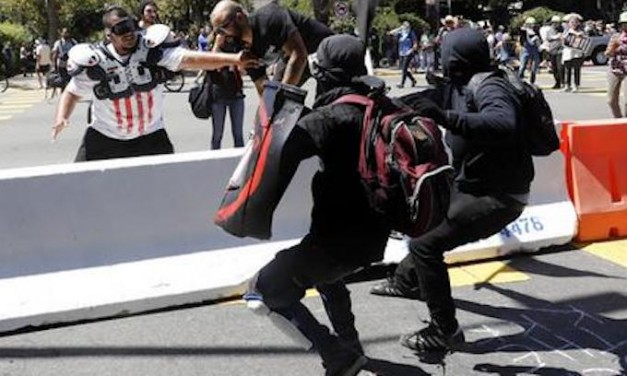 Media conceal Antifa's violent thuggery