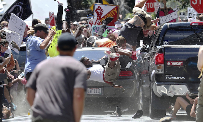 White Supremacists Were Not The Only Thugs Tearing Up Charlottesville