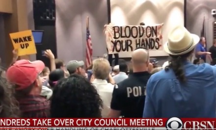 Chaos: Charlottesville City Council Votes to Cover Up Statues