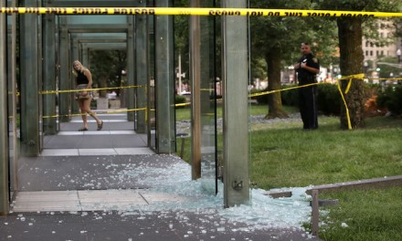 Suspect arrested after Holocaust Memorial vandalized