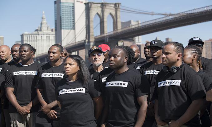 Kaepernick saga has NAACP and police rallying, items heading to Smithsonian