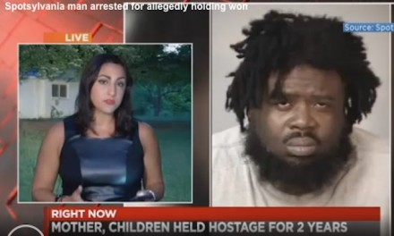 Police: Man held woman, children captive in Va. home for 2 years
