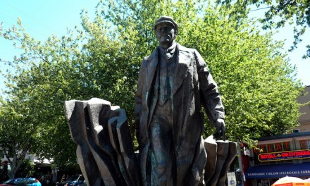 Speaking of statues, why does Seattle have a 7 ton statue of Vladimir Lenin?
