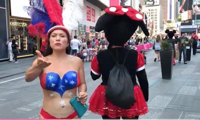 NYC Cops: We Can't Arrest Nude Illegal Alien Panhandlers