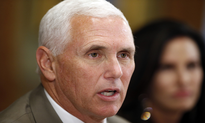 Pence criticizes 'fringe groups', calls out media
