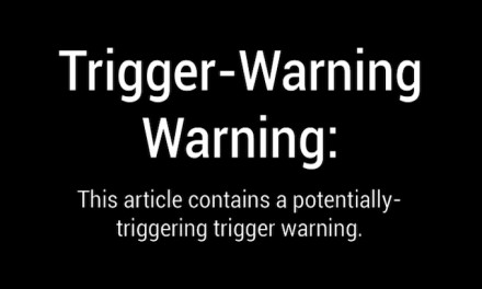A warning about 'trigger warnings'