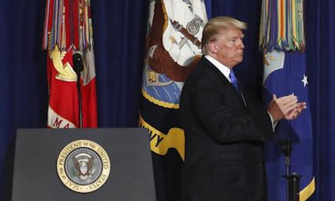 President Trump unveils policy changes in Afghanistan war