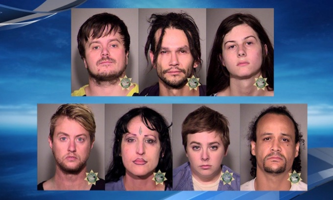 Antifa attacks prayer rally in Portland; arrests made
