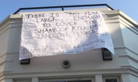 Anti-war banner at Amherst College sparks 9/11 outrage