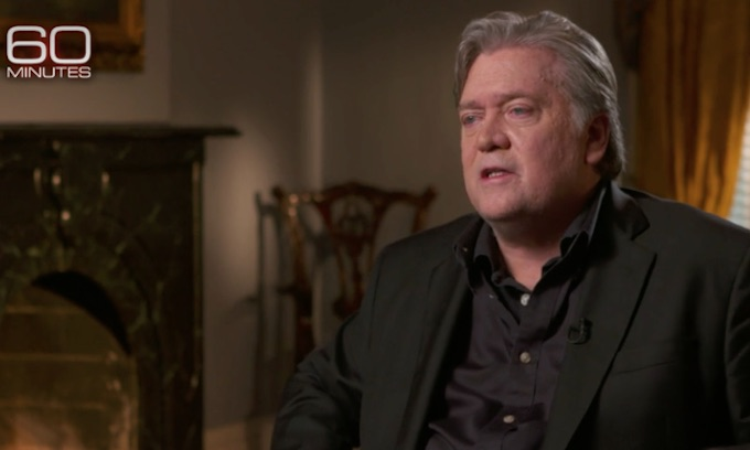 Steve Bannon: Swamp creatures are winning