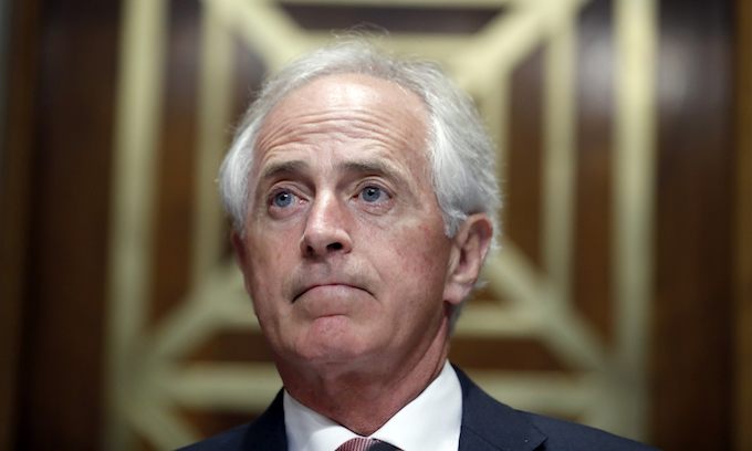 Trump blasts Sen. Corker: 'Didn't have the guts to run!'