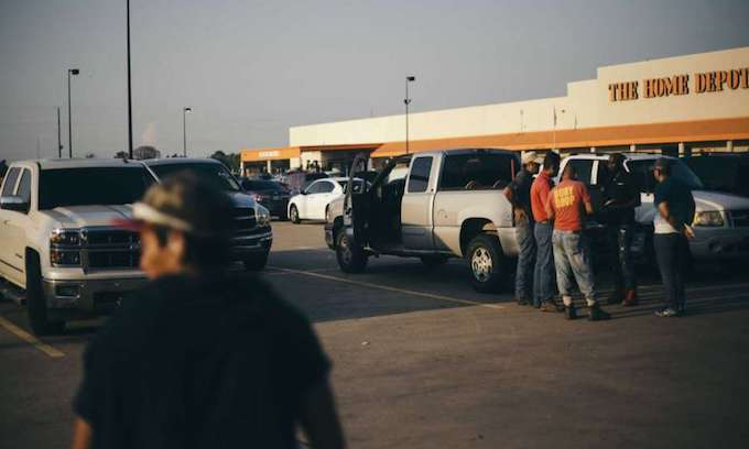 Contractors hiring aliens for Harvey recovery