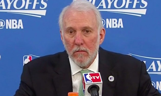 Gregg Popovich, Spurs coach, says U.S. 'racist country'