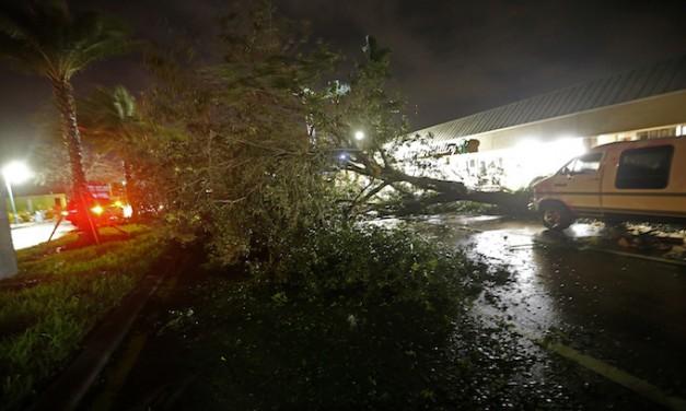 Still dangerous Irma continues to lash Florida