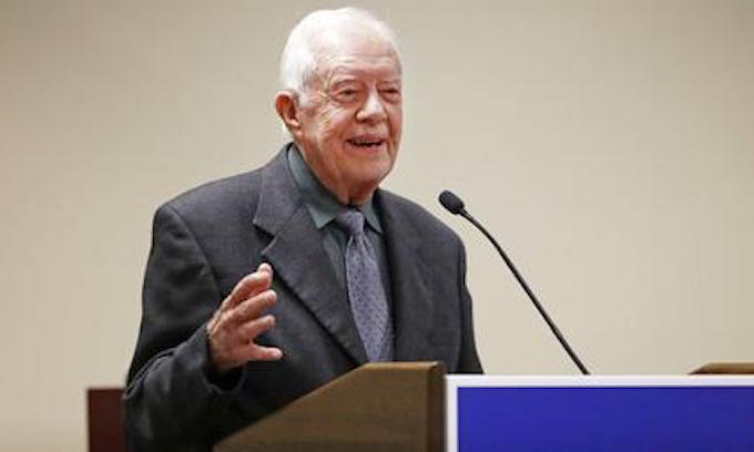 Jimmy Carter defends Donald Trump