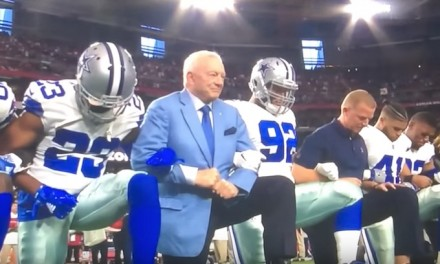 Jerry Jones gives players permission to protest during season; Eric Trump says 'Goodbye NFL'