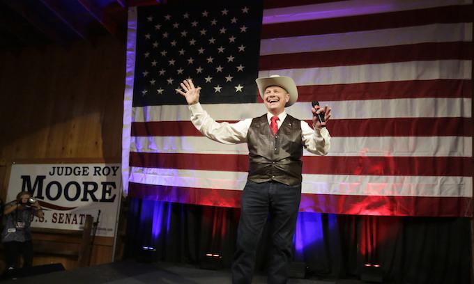 Moore wallops Strange by 10% in Ala. Senate runoff