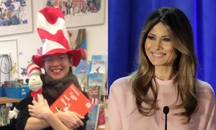 'Cat in the Hat' Librarian Rejects Melania Trump Book Donation, Now Calls Dr. Seuss 'Racist'