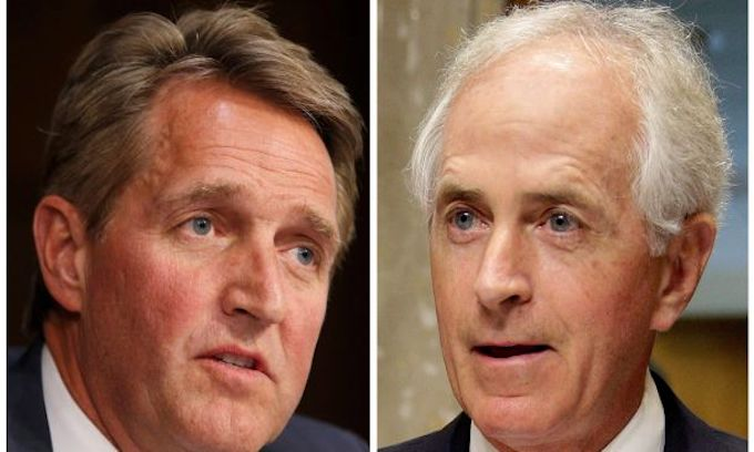 Corker, Flake plan foreign policy power plays