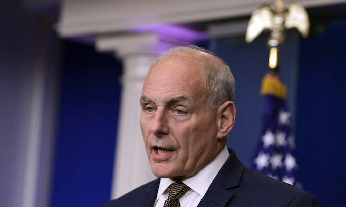 John Kelly defense of Trump shows the general's character