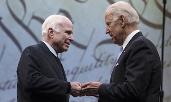 McCain defends globalism, warns of 'half-baked spurious nationalism'
