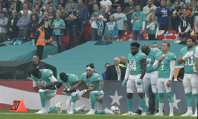NFL's 6-week 10% ratings plunge spells 'Trump Effect'