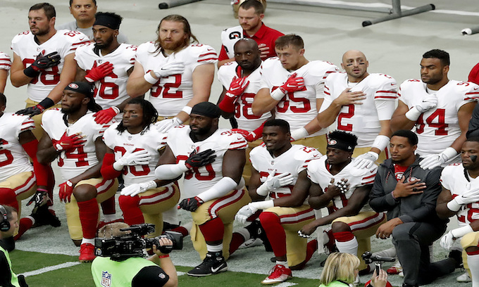 NFL teams with kneelers miss the playoffs